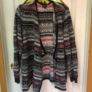 Torrid Size 3 Knit Drape Cardigan